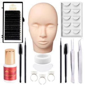 Eyelash Extension Kit Starter Practice Set